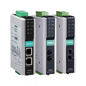 Image of MGate-MB3170_MGate-MB3270-Series Modules - Modbus RTU To Modbus TCP gateway converters
