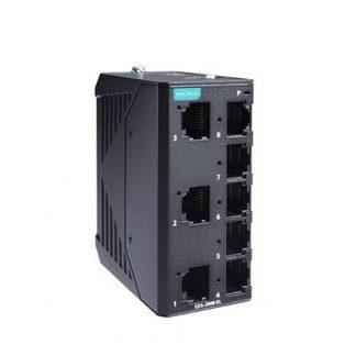 Image of EDS-2008-EL - 8 port Unmanaged Industrial Ethernet Switch