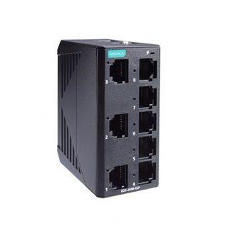 Image of EDS-2008-ELP - 8 Port Unmanaged Industrial Ethernet Switch